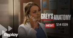Grey's Anatomy – Saison 14 Episode 9 : On récolte ce que l'on sème du 25 avril 2018 – Replay TF1