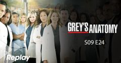 Grey's Anatomy – Saison 09 Episode 24 : Coups de foudre du 7 mai 2018 – Replay TF1