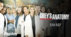 Grey's Anatomy – Saison 10 Episode 07 : Frayeurs nocturnes du 16 mai 2018 – Replay TF1
