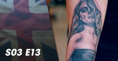 Tattoo Cover : Sauveurs de tatouages : Londres : Episode 13 du 16 mai 2019