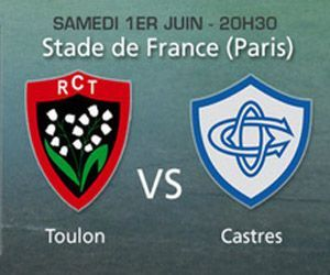 Replay Rugby Finale Top 14 2013 RC Toulon – Castres Olympique, 1 juin 2013 – Pluzz.fr France 2